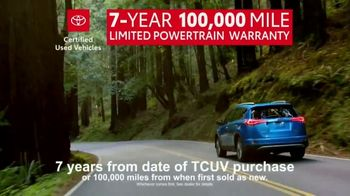 Toyota Certified Used Vehicles Sales Event TV Spot, 'Best Resale Value' [T2] - Thumbnail 7