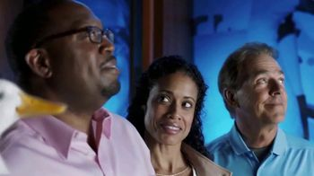 Aflac TV Spot, 'Campus Tour' Featuring Nick Saban - 2505 commercial airings