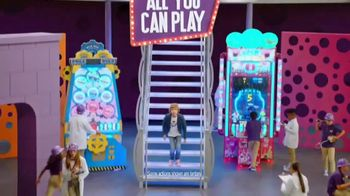 Chuck E. Cheese All You Can Play TV Spot, '50 Free Tickets' - Thumbnail 1
