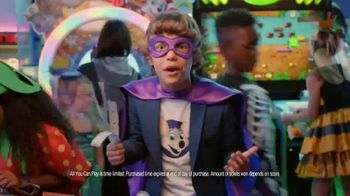 Chuck E. Cheese All You Can Play TV Spot, '50 Free Tickets' - Thumbnail 7