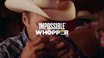 Burger King Impossible Whopper TV Spot, 'No Beef' - Thumbnail 1