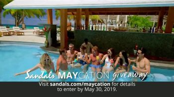 Sandals Resorts Maycation Giveaway TV Spot, 'Teachers, Nurses, Military and Mothers' - Thumbnail 2