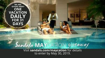 Sandals Resorts Maycation Giveaway TV Spot, 'Teachers, Nurses, Military and Mothers' - Thumbnail 4