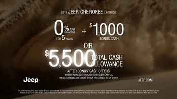 Jeep Memorial Day Sales Event TV Spot, 'This Is the Legend' Song by The Kills [T2] - Thumbnail 9