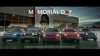Jeep Memorial Day Sales Event TV Spot, 'This Is the Legend' Song by The Kills [T2] - Thumbnail 6