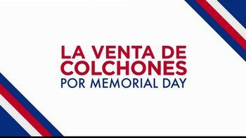Rooms to Go La Venta de Colchones por Memorial Day TV Spot, 'Compras especiales' [Spanish] - Thumbnail 1
