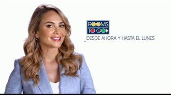 Rooms to Go TV Spot, 'Cupones de Memorial Day' con Ximena Córdoba [Spanish] - Thumbnail 1