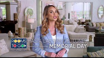 Rooms to Go TV Spot, 'Cupones de Memorial Day' con Ximena Córdoba [Spanish] - Thumbnail 7