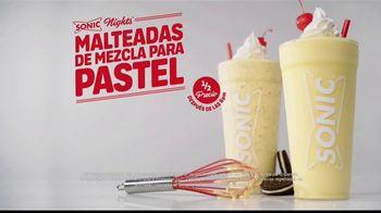 Sonic Drive-In Cake Batter Shakes TV Spot, 'Mezcla del pastel' [Spanish] - Thumbnail 7