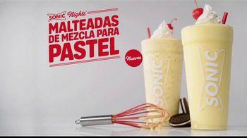 Sonic Drive-In Cake Batter Shakes TV Spot, 'Mezcla del pastel' [Spanish] - Thumbnail 1