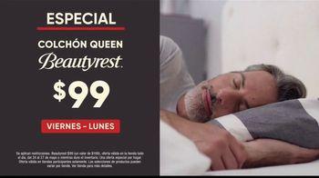 Mattress Firm Venta de Memorial Day TV Spot, 'Colchón queen y almohada Purple' [Spanish] - Thumbnail 3
