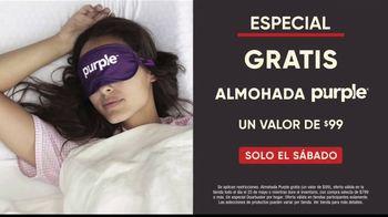 Mattress Firm Venta de Memorial Day TV Spot, 'Colchón queen y almohada Purple' [Spanish] - Thumbnail 4