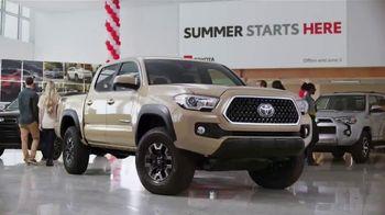 Toyota Summer Starts Here TV Spot, 'Summer Fun' [T2]