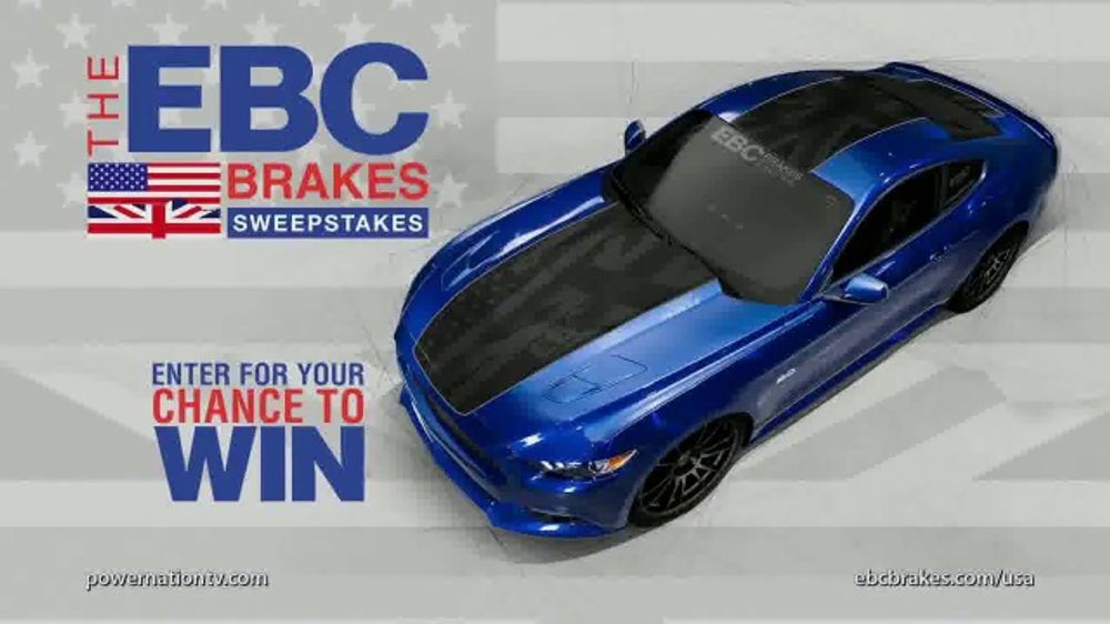 EBC Brakes Sweepstakes TV Commercial, 'Mustang GT' - Video