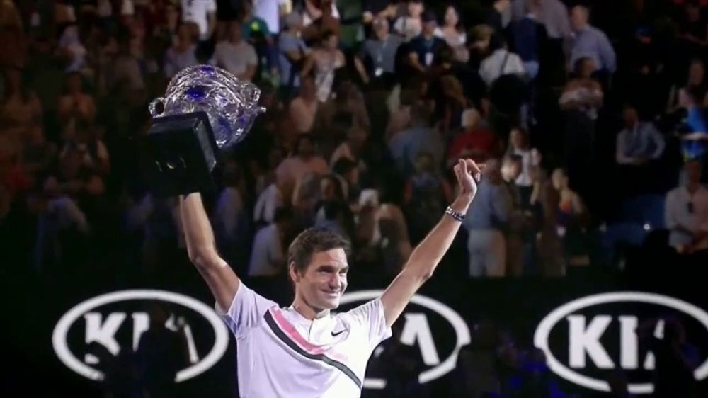 Rolex TV Commercial, 'Perpetual Excellence' Featuring Roger Federer