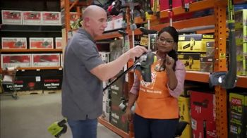 The Home Depot Memorial Day Savings TV Spot, 'Mulch, Grill and Trimmer' - Thumbnail 1