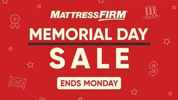 Mattress Firm Memorial Day Sale TV Spot, 'Time is Running Out' - Thumbnail 2
