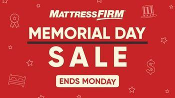 Mattress Firm Memorial Day Sale TV Spot, 'Free Adjustable Base' - Thumbnail 1