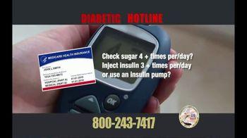 Diabetic Hotline TV Spot, 'Glucose Monitors' - Thumbnail 3