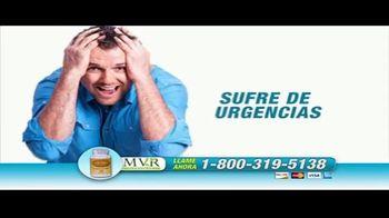 MVR Natural TV Spot, 'Problemas de la próstata' [Spanish]
