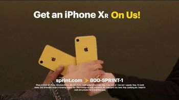 Sprint TV Spot, 'iPhone XR On Us' - 1483 commercial airings