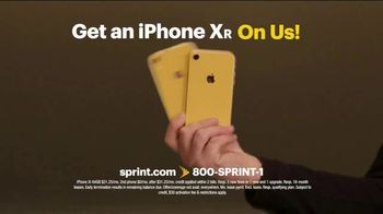 Sprint TV Spot, 'iPhone XR On Us' - Thumbnail 4
