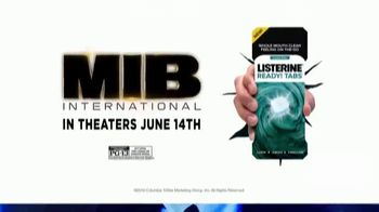 Listerine Ready! Tabs TV Spot, 'Men in Black: International: On the Go' - Thumbnail 10