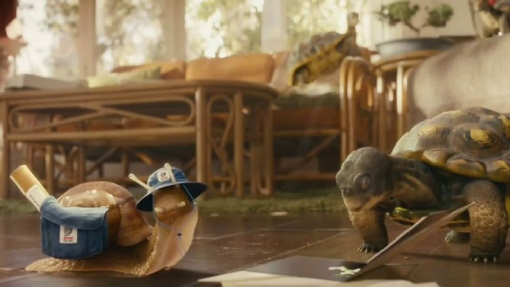XFINITY App TV Commercial, 'The Slowskys: Snail Mail' - Video