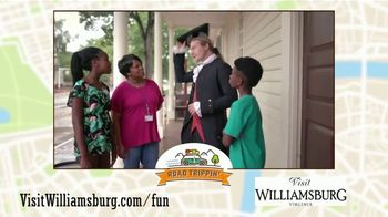 Visit Williamsburg TV Spot, 'Road Trip'