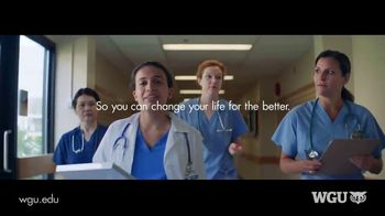 Western Governors University TV Spot, 'Healthcare Professionals'