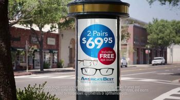 America's Best Contacts and Eyeglasses TV Spot, 'Street Performer: Military Appreciation Month' - Thumbnail 5