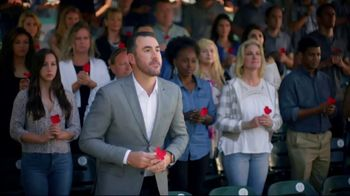 USAA TV Spot, 'Memorial Day: Poppy Wall of Honor' Featuring Justin Verlander