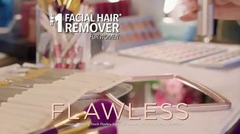 Finishing Touch Flawless TV Spot, 'Easily Remove Facial Hair' - Thumbnail 2