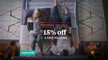 Leesa Memorial Day Sale TV Spot, 'All About My Bed' - Thumbnail 8