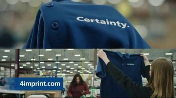 4imprint TV Spot, 'What Is Certainty?' - Thumbnail 3
