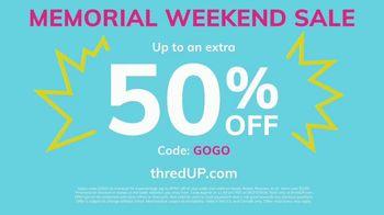 thredUP Memorial Weekend Sale TV Spot, 'Biggest Closet in the World' - Thumbnail 10
