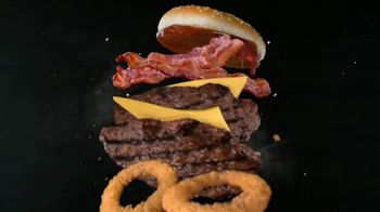 Carl's Jr. Western Bacon Cheeseburger TV Spot, 'Giddy-Up'