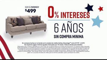 Ashley HomeStore Memorial Day Sale TV Spot, 'Las mejores ofertas del verano' canción de Midnight Riot [Spanish] - Thumbnail 5