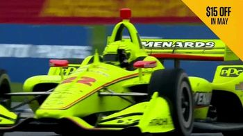 NBC Sports Gold IndyCar Pass TV Spot, 'Every Race Live: $15 Off in May' - Thumbnail 6