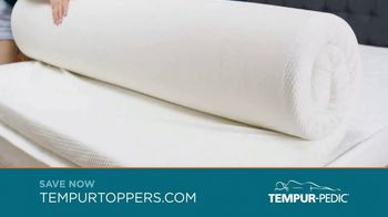 Tempur-Pedic Toppers TV Spot, 'Conforms to Your Body'