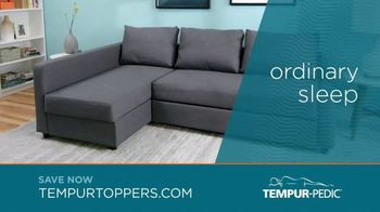 Tempur-Pedic Toppers TV Spot, 'Conforms to Your Body' - Thumbnail 5