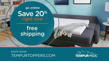 Tempur-Pedic Toppers TV Spot, 'Conforms to Your Body' - Thumbnail 6
