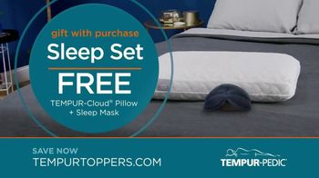 Tempur-Pedic Toppers TV Spot, 'Conforms to Your Body' - Thumbnail 7
