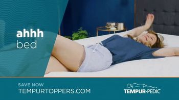 Tempur-Pedic Toppers TV Spot, 'Conforms to Your Body' - Thumbnail 8