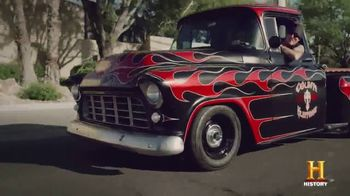 Cooper Tires TV Spot, 'History Channel: Go-Car' Featuring Danny Koker