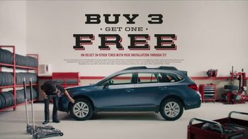 Big O Tires TV Spot, 'Buy Three Get One Free' - Thumbnail 10