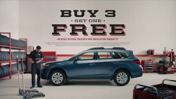 Big O Tires TV Spot, 'Buy Three Get One Free' - Thumbnail 9