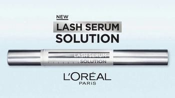 L'Oreal Paris Lash Serum Solution TV Spot, 'Lash Caring Complex' - Thumbnail 3