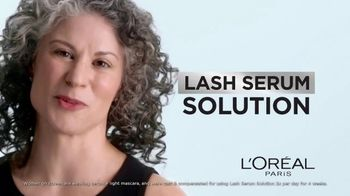 L'Oreal Paris Lash Serum Solution TV Spot, 'Lash Caring Complex' - Thumbnail 6