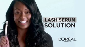 L'Oreal Paris Lash Serum Solution TV Spot, 'Lash Caring Complex'